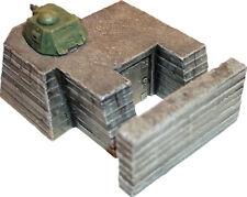 Artmaster 80.011 Tobruk mit Panzerturm H0 1:87 Bausatz Keramik Bunker