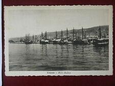TRIESTE-Molo Audace-viagg,anni 50#5802