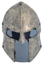 Fiber Resin Wire Mesh Full Face Protection Airsoft Sparta Mask PROP Halloween