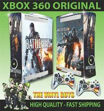 XBOX 360 ORIGINAL BATTLEFIELD 4 001 STICKER SKIN COVER & 2 PAD SKINS