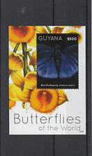 Guyana 2012 neuf sans charnière papillons du monde feuille 1v i bleu persius