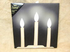 Candelabra Candles BEAUTIFUL Lighted Canvas Wall Decor Sign Lights Up Flickers