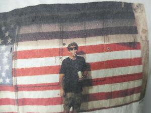Mark OBLOW WHAT YOUTH Tee Shirt flag surf skate Small brand artist skater S art