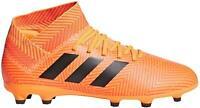 Adidas Nemeziz 18.3 FG J Zest/Core Black/Solar Red Soccer Shoe (PS/GS)