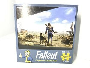 "Fallout Neighborhood Patrol Jigsaw Puzzle 550 Pieces 18""x24"" Bethesda Gaming"