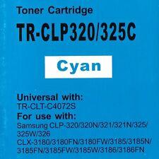 C4072s CIANO TONER COMPATIBILE PER SAMSUNG clp-320, clp-325, clp-325n, clp-325w