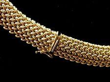 """14k Gold Designer Brev. Inderre Italy 75 Grams 15.5""""L 14mm  SALE-SAVE 7100 #1024"""