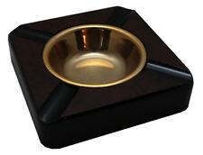 Cigar Ashtray - Faux Burl - Square (atVG804)