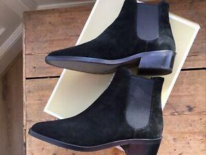 BNIB MICHAEL KORS black suede Lottie flat bootie Size 7 RRP £235