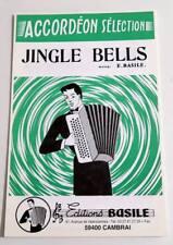 Partition sheet music E. BASILE : Jingle Bells * Accordéon