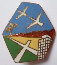 Insigne Armée de l'Air BA 149 BASE AERIENNE MAISON BLANCHE AFN ALGERIE ORIGINAL