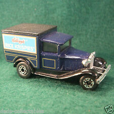 Matchbox Kellogg's Rice Krispies Ford Model A Truck 1979 Vintage not Hot Wheels