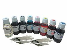 Refill Ink for Epson 54 T054 Cartridge R800 Stylus Photo R1800 800ml syringe