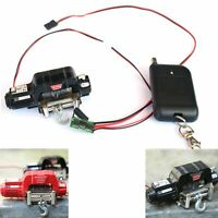 Car Metall Winde Seilwinde Winch Controller für 1/10 Auto TRX4 D90 SCX10 TRX-4