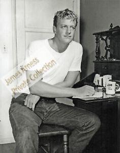 James Arness Gunsmoke Marshal Dillon Rare Yound Jim Candid 8 x 10 Photo