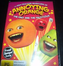 Annoying Orange The Fast And The Fruitious (Australia Region 4) DVD – New