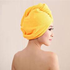 Bamboo Bathing Hat Cap Salon Spa Dryer Dryer Hair Drying Magic Quick Dry Towel