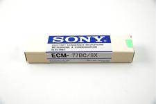 Sony ECM-77BC Lapel Microphone (Hirose Connector)