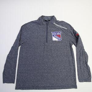 New York Rangers Fanatics NHL Pro Authentics Pullover Men's Blue Used