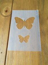 Butterfly tre MYLAR riutilizzabile Stencil Aerografo Pittura Arte Craft fai da te Home Deco