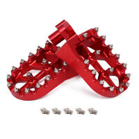 CNC Foot Pegs Footpegs Pedals Footrests for Husqvarna CR WR SM SMS TE TC SMR TXC