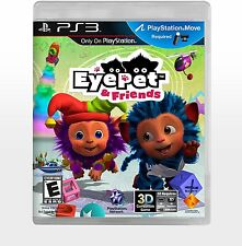 EyePet & Friends (PlayStation 3, PS3) - NEW - FREE SHIPPING ™