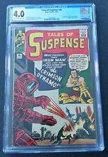 Tales of Suspense #46 CGC 4.0 1st App Crimson Dynamo (Marvel 1963)