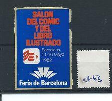 Cartel de leucocitos. - Cenicienta/- CF63-Europa-Salon del Comic, Barcelona - 1982