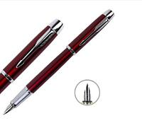 Good Perfect Parker Pen Classic IM Series Red Color 0.5mm Nib Fountain Pen