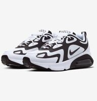 Nike Air Max 200 AQ2568-104 White Black RRP £109.95 Mens UK 9 9.5 11