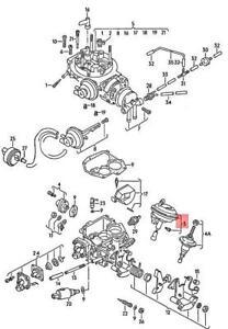 Genuine Volkswagen Vacuum Unit NOS Passat 31 037129061