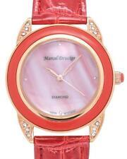 MARCEL DRUCKER Brand New Watch With Precious Stones - Genuine Crystals, Diamonds