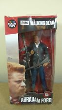 "McFarlane The Walking Dead 7"" Abraham FORD A COLORI Tops Action Figure SCATOLA DANNEGGIATA"