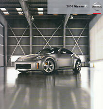 NISSAN 350Z Coupe Roadster Nismo GT Touring Enthusiast Prospekt Brochure USA 60