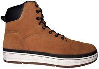 K1X State Sport Herren High-Top Sneaker Gr. 46,5 Leder Schuhe Boots dark honey