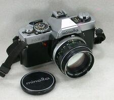 Minolta XG9 SLR Film Camera + MC ROKKOR-PF 55mm F1.7 Standard Lens No. 9280983