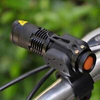 1200lm Q5 CREE LED Licht Bike Fahrradlampe Fahrradbeleuchtung Fahrradlicht Set^