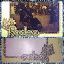 70s HorseBack Cowboy calf roping Rodeo Country Western Music vTg t-shirt iron-on