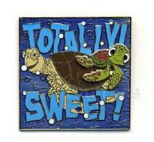 Disney Pixar Finding Nemo Turtle Trouble Crush & Squirt 'Totally! Sweet!' pin