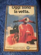 Italian Vespa Advert Wooden Wall Plaque Picture cm. 20x28 VESPA PX SCOOTER