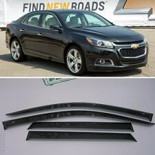 For Chevrolet Malibu 2011-2015 Window Visors Side Sun Rain Guard Vent Deflectors