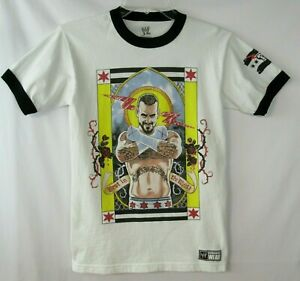 2013 WWE CM Punk Straight Edge Wrestling T-Shirt ADULT SMALL Best In The World