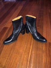 FREELANCE Alma Ankle Boots in Black 36/US 6 AMAZING and EXCELLENT CONSTION