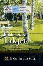 Bockingford Inkjet Watercolour Digital Printer Paper - A4 - 20 Sheet Pack