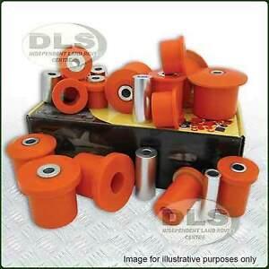 Polyurethane Bush Kit POLYBUSH Dynamic Orange Range Rover Sport to`13  (DA6049)