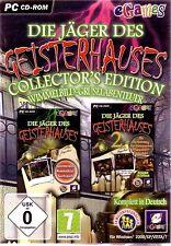 Die Jäger des Geisterhauses 2 Spiele Collectors Edition für Pc Neu Ovp