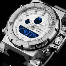 INFANTRY Mens Digital Quartz Wrist Watch Alarm Date Day Sport Army Chronograph