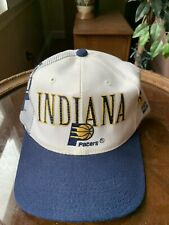 Vintage Spellout Indiana Pacers Sports Specialties Snapback Hat NBA Pro Line