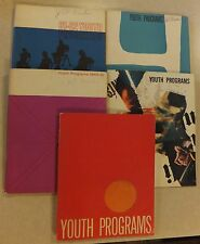 5 VINTAGE LUTHERAN YOUTH MINISTRY PROGRAM MANUALS GROUP BIBLE STUDIES BOOKS