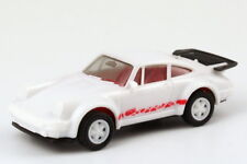 "1:87 Porsche 930 Turbo "" Carrera "" White Red - herpa 3050 - without Original Box"
